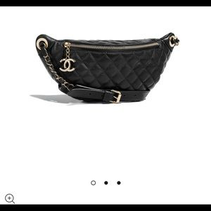 f35734d1a99a Chanel waist bag (fanny pack) - Black & Gold NWT